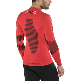 X-Bionic Running Effektor Power OW Jersey manga larga Hombre, flash red/black
